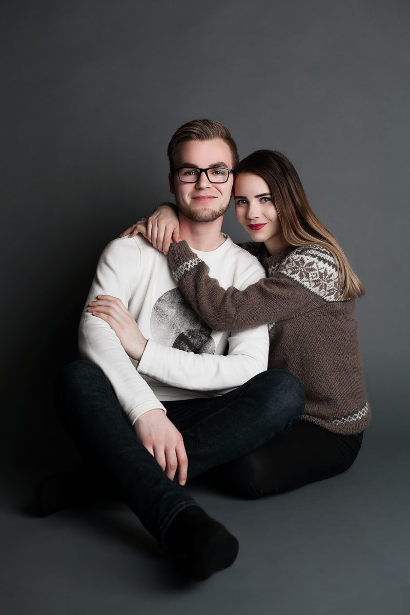 Portrait photography | Christmas | Tom & Elin
