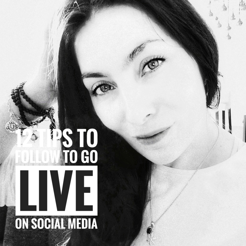 12 tips to follow to go Live on Social Media